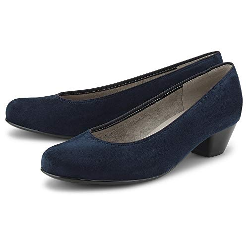 Jenny Damen Klassik-Pumps Scala Blau Synthetik 37 1/2