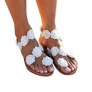 Sandals for Women Dress Women Summer Flip Flop Women Rhinestone Owl Sweet Sandals Clip Toe Sandals Beach Shoes 2020