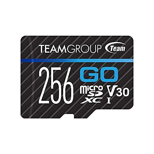 TEAMGROUP GO Card Micro SD Card256GB