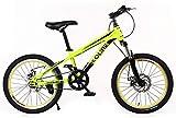 YAYY Bicicleta para Adultos 20 Pulgadas Niños Bicicleta de montaña Mujer Cross Country Boy Senderismo Bicicleta-mi_24 Pulgadas Upgrade