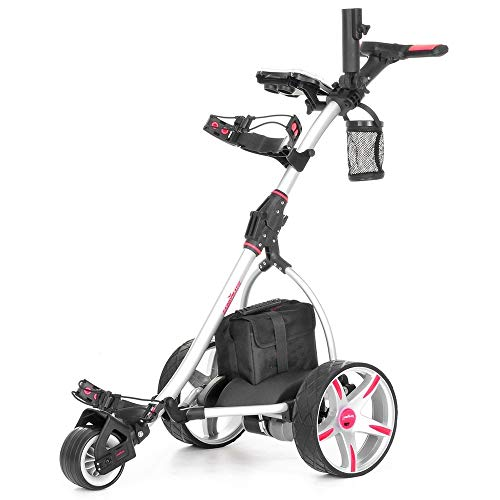 Caddymatic V2 Electric Golf Trolley/Cart With 18 Hole battery With Auto-Distance...