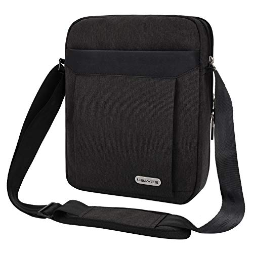 UBAYEE Man Shoulder Bag for iPad/Tablet up to 11 Inch, Lightweight Small Crossbody...