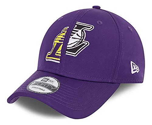 New Era - Berretto NBA Los Angeles Lakers Half 9Forty Strapback cap - Viola, Lilla, Taglia Unica