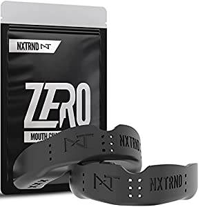 Nxtrnd Zero Mouth Guard Sports – 2 Pack of 1.6 mm Ultra Thin Professional Mouthguards for Boxing, MMA, Sparring, Wrestling, Football, Lacrosse and Other Sports, Mouth Guard Case Included from NXTRND