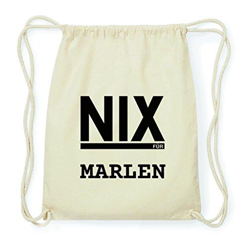 JOllify NIX FÜR Marlen Turnbeutel Geschenk Rucksack aus Baumwolle BPNIX5725