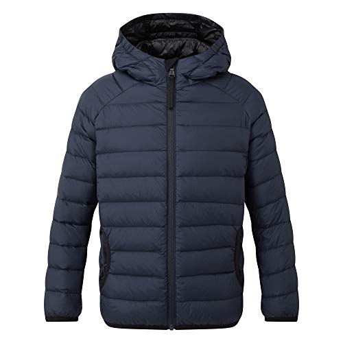 TOG24 Dowles Kids Packable Insulated Lightweight Jacket, Breathable Ultra Warm Children's Jacket, Elasticated Cuffs and Hem 90% Down 10% Feather 600 Fill Power, Perfect for School Camping Hiking