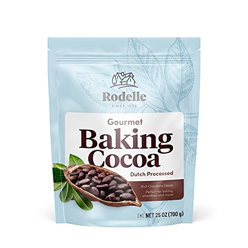Rodelle Dutch Processed Gourmet Baking Cocoa Powder, 25 Ounce