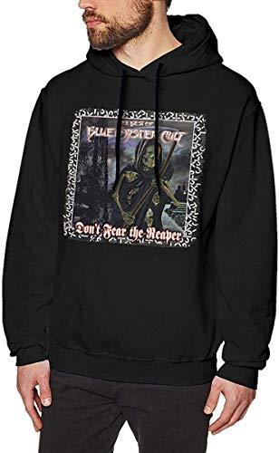 Preisvergleich Produktbild SKDJFBUD Men's Novelty Hoodies Activewear Top Hoodies Men's Hoody BlueOysterCultDon't¡¥FearTheReaper Mens Long Sleeve Sweatshirts Mans Hoodies Black S
