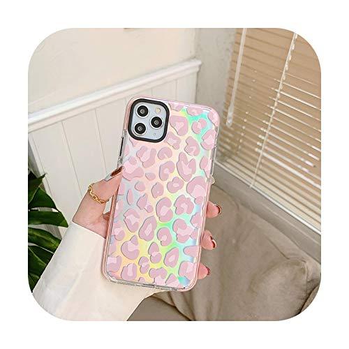 who-care Carcasa de silicona suave con purpurina para iPhone 7, 8 Plus, 11 Pro, X, Xs, Xr Max 12 Mini Se 2020, con papel para iPhone Xs, color rosa