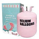 ヘリウムガス 風船 400リットル Wout パーティー クリスマス バルーン 風船用 (パールピンク)