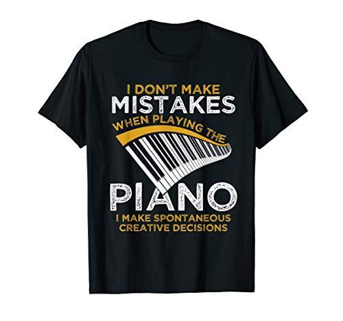 Keyboard Pianist Gifts Music Musician Piano T-Shirt