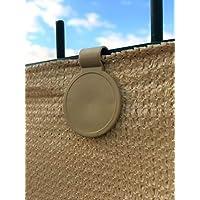 edenvista 20 Clips de fijación para Mallas de ocultación de 90 a 350 g/m2 (Bolsa de 20 Piezas, Sand)