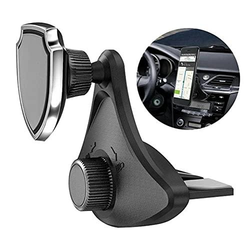 FANGFANG Want Want Lin Soporte de teléfono magnético Soporte Clip Teléfono Celular Accesorios Ajuste para CD Slot Slot Mount Teléfono de teléfono
