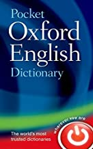 Pocket Oxford English Dictionary 11th edition by Oxford Dictionaries (2013) Hardcover
