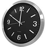 Securityman App Based, Hidden Spy Surveillance Wall Clock iSecurity Camera with Motion Detection and Real Time Monitoring (CLOCKCAM-WIFI)
