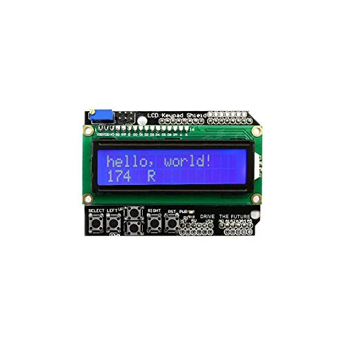 GUONING-L Power 1602 Module Display LCD Keypad Shield LCD1602 LCD for ATMEGA328 ATMEGA2560 raspberry pi blue screen Module