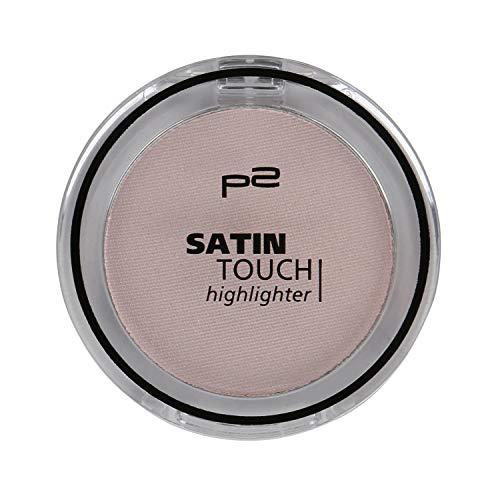 P2 Satin Touch Highlighter Nr. 030 satin gleam Inhalt: 3g Highlighter für strahlende Akzente auf Lid und Wangen.