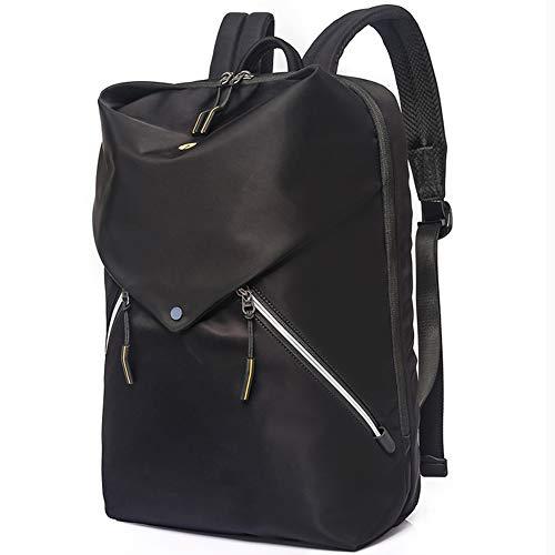 GSH PACKAGE Laptoptasche – 35 l Rucksack, strapazierfähiger Tagesrucksack, Laptopfach Rucksack, Taschen und interner Schlüsselclip – für alle Jahreszeiten, Reisen, Camping, Festivals, Schwarz