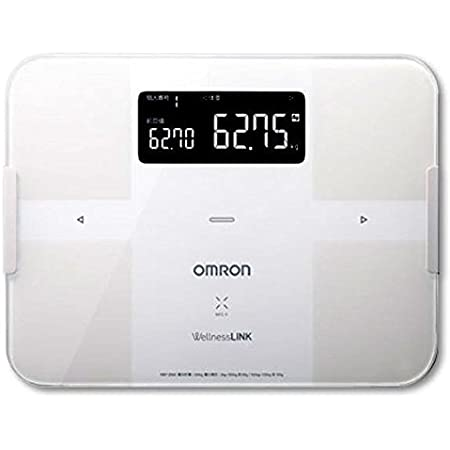 オムロン 体重体組成計(ホワイト)OMRON カラダスキャン HBF-254C-W