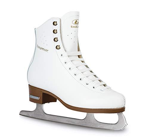Botas - Modell: Dagmar/Eiskunstlaufschuhe Damen, Mädchen/Farbe: Weiß, Größe: 37