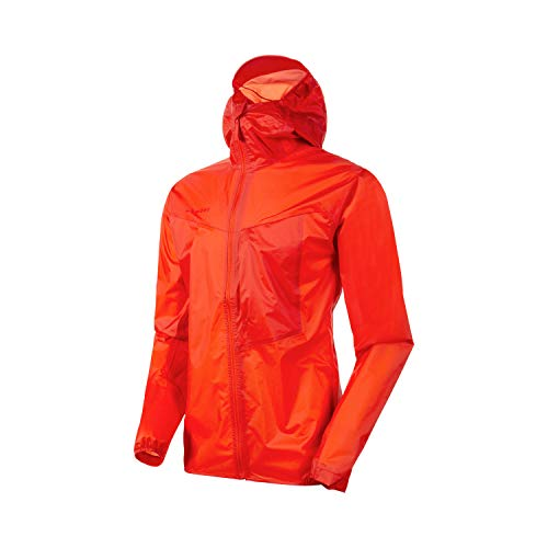 Mammut Herren Kento Light Hooded Hardshelljacke mit Kapuze