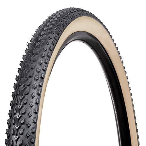 VEE Tire Co. Unisex– Erwachsene Mission MTB Trail - XC Reifen, schwarz mit Skinwall, 29 x 2.10