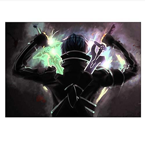 Mengyun Store Anime Japonés Sword Art Online Posters...