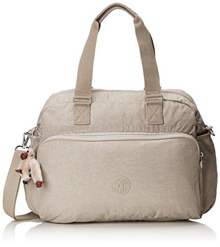 Kipling July Bag Bolso de Viaje, 45 cm, 21 litros, Beige (Pastel Beige)