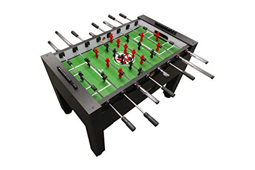 Best Prices! Warrior Table Soccer Pro Foosball Table 2020 Model 56 Inch Black