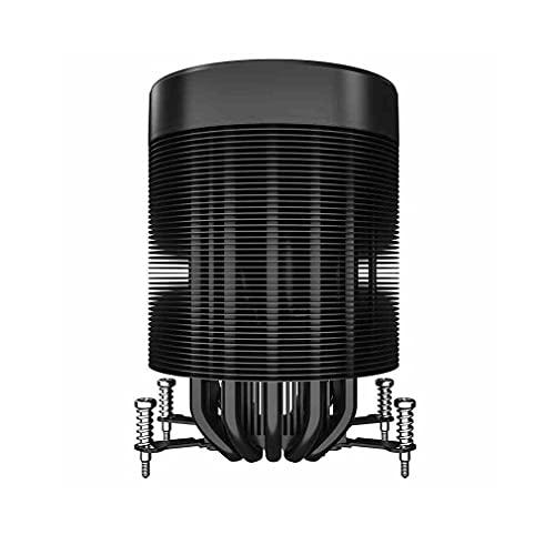 LLRZ Centilador CPU CPU Cooler Spiral Fan Altura 141mm 5 Contacto Directo Continuo Tippipes de Calor RGB Control de la Placa Base Fan de refrigeración Sincronización 5V 3Pin Sistema Refrigeración