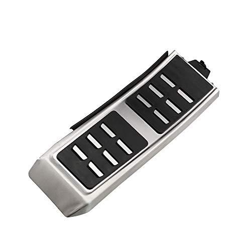 MMPTMD Pedales Deportivos Aptos para Audi A4 B8 A6 A7 A8 S4 RS4, A5 S5 RS5 8T, Q5 SQ5 8R Folleto de Freno de Combustible Pedal de Pedal Accesorios Automóviles (Color Name : 1Pc Rest Pedals)