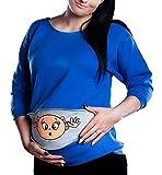 Huixin Camiseta para Mujer Sudadera Trajes De Maternidad De Vintage Camisa Primavera Y Otoño para Mujeres Embarazadas Embarazo Blusa Ropa De Maternidad Camiseta De Maternidad Cómoda Moda Básica