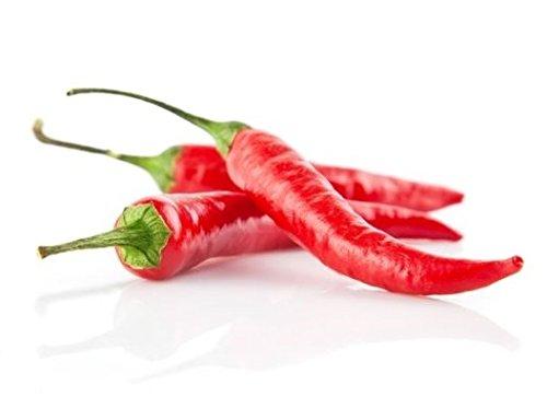 100g Frische rote Thai Chili Schoten Pamai Pai® Chilli frisch rot Kochen scharf Chillies