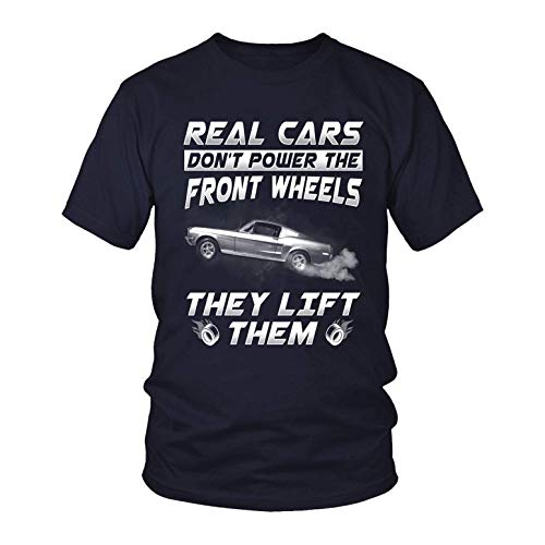 Real Cars Don't Power The Front Wheels They Lift Them Shirt, Vintage Aged to Perfection T-Shirt, Motorcycle Lovers T Shirt