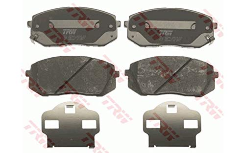 Preisvergleich Produktbild TRW GDB3461 Bremsbelagsatz,  Scheibenbremse