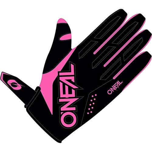 O'NEAL | Fahrrad- & Motocross-Handschuhe | MX MTB DH FR Downhill Freeride | Langlebige, Flexible Materialien, belüftete Handinnenfäche | Women's Element Glove | Damen | Schwarz Pink | Größe XL