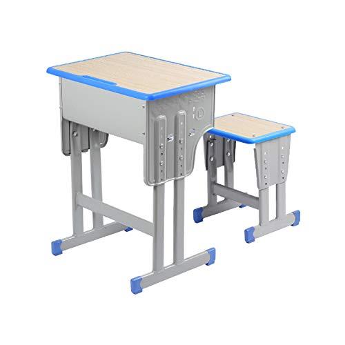 QTYJQ Escritorio para Niños Escritorio Mesa de ergonómica con Altura Regulable con Silla Juego de Mesa y Silla Infantil