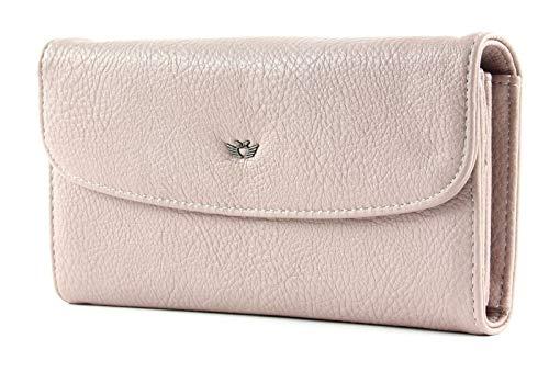 Fritzi aus Preussen Damen Heide Geldbörse, Pink (Light Rose), 4x19.5x11 cm