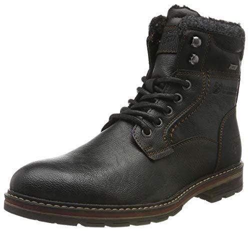 TOM TAILOR Herren 7985604 Klassische Stiefel, Schwarz (Black 00001), 44 EU