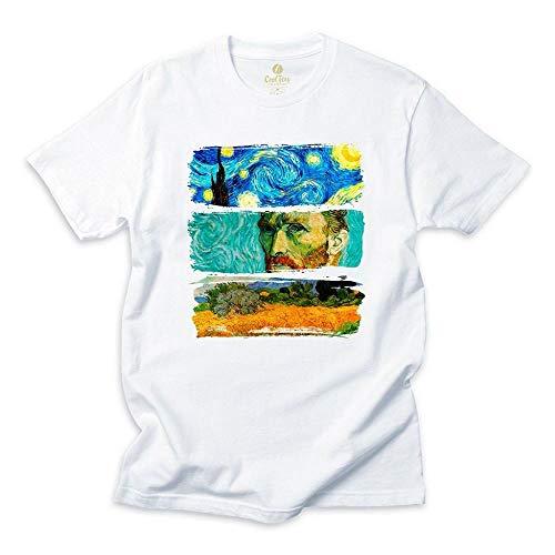 Camiseta Pop Art Cool Tees Van Gogh