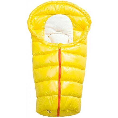 Odenwälder 11500-460 Fusssack inKid fiber, gelb