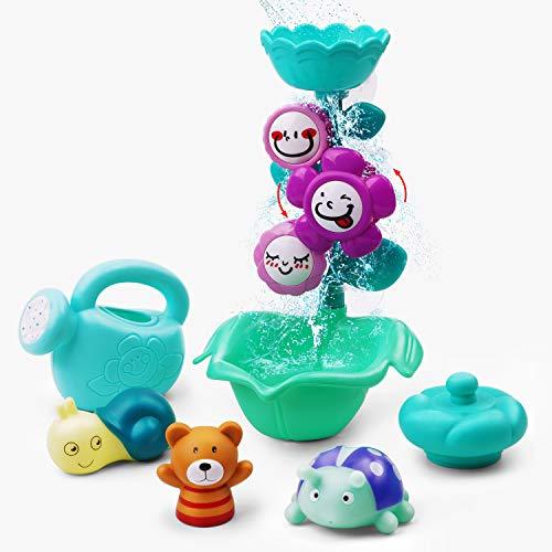 GizmoVine Juguetes de baño para bebés,...