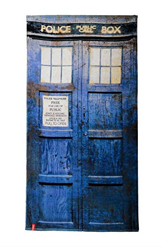 "Doctor Who TARDIS 60""x30"" Beach Towel"