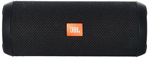 JBL Flip 3 Splashproof Portable Bluetooth Speaker, Black (Renewed)