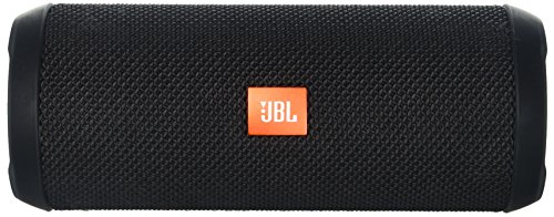JBL Flip 3 Splashproof Portable Bluetooth Speaker, Black (Renewed)