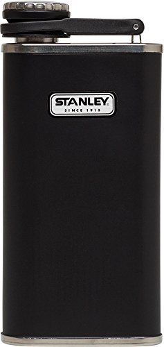 Stanley Classic Flask, Matte Black, 8 Oz