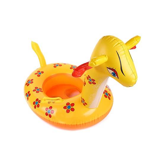 Círculo de asiento infantil inflable Círculo Amarillo de Pato Amarillo Círculo Círculo de asiento para niños