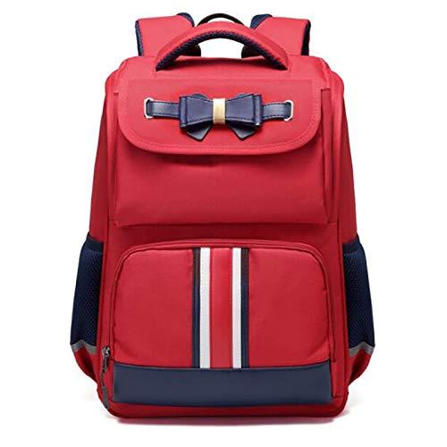 XJPGJL Fashion Backpack, Primary School Student School Bag Boys And Girls Children School Bag Burden Reduction Backpack Junior High School Students Leisure School Backpack, Pink,D