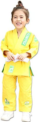 FLUORY Sports Kids BJJ GI Lightweight Youth Children s Girls Brazilian Jiujitsu Gi Kimono Preshrunk product image