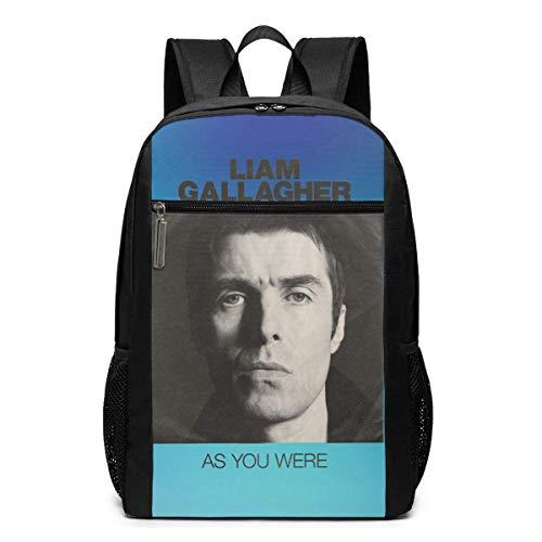 ZYWL Liam Gallagher - Als du 17 warst im Rucksack Unisex Funny Funky Wanderrucksäcke/Camping Rucksack/Schultasche/Travel Daypack